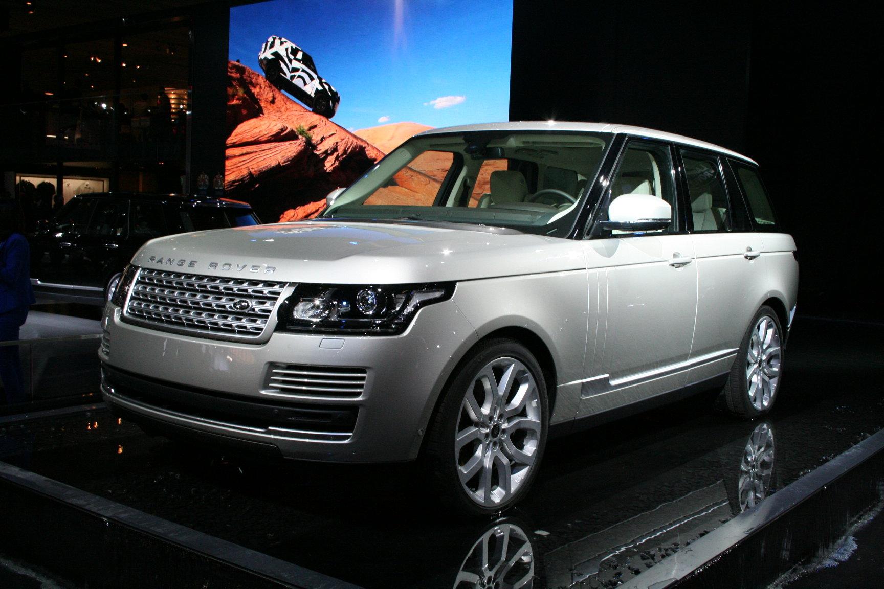 новый Range Rover