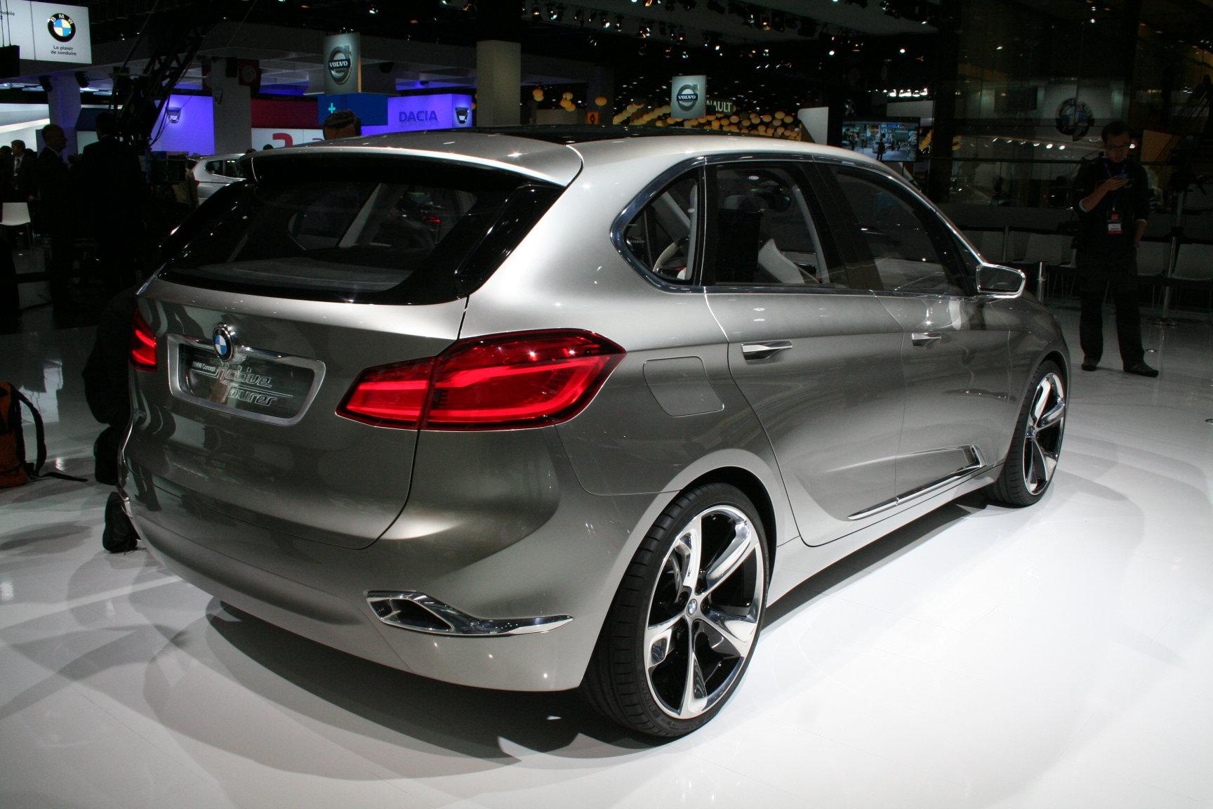 BMW Active Tourer переднеприводный