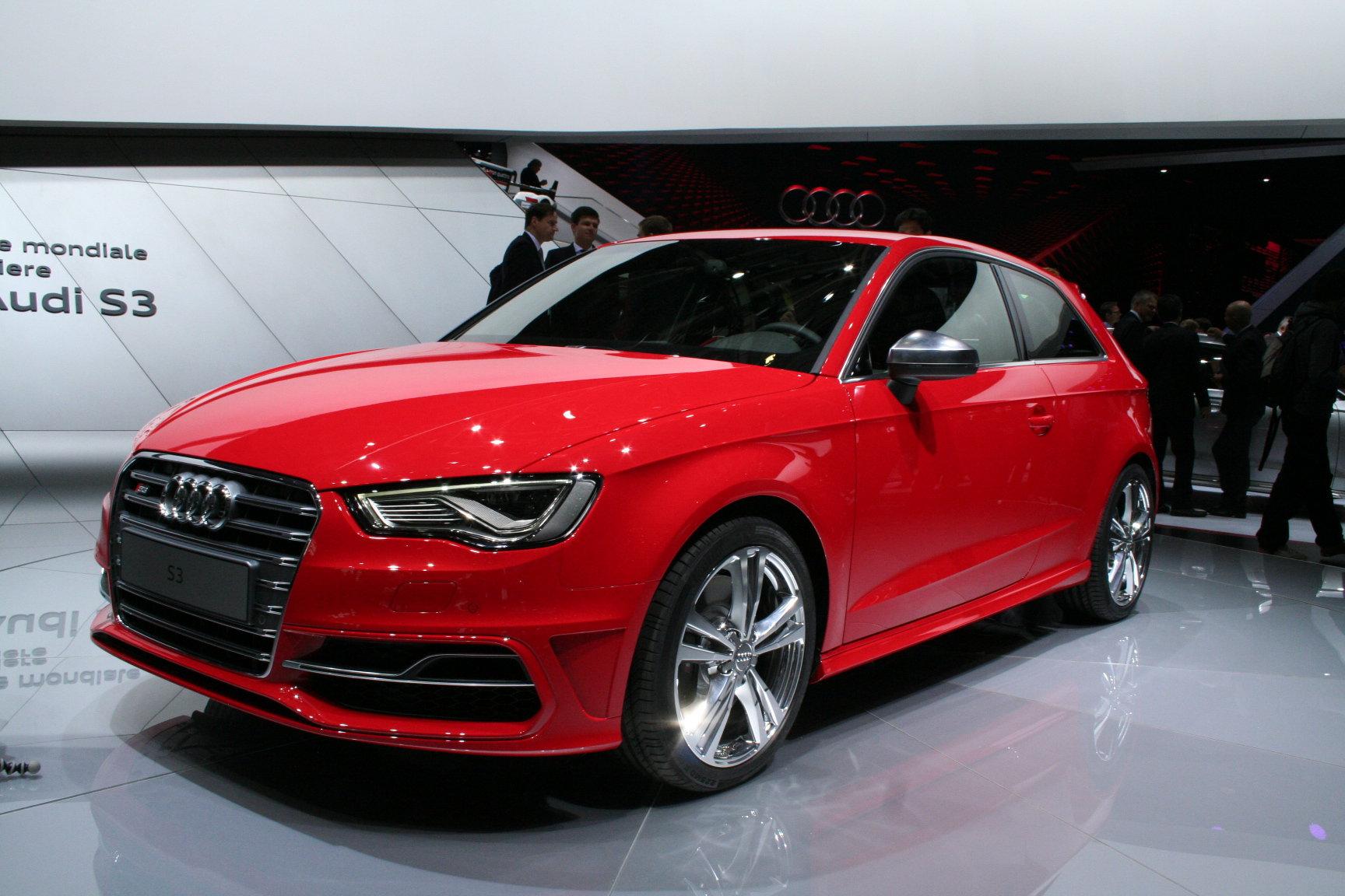 новый Audi S3