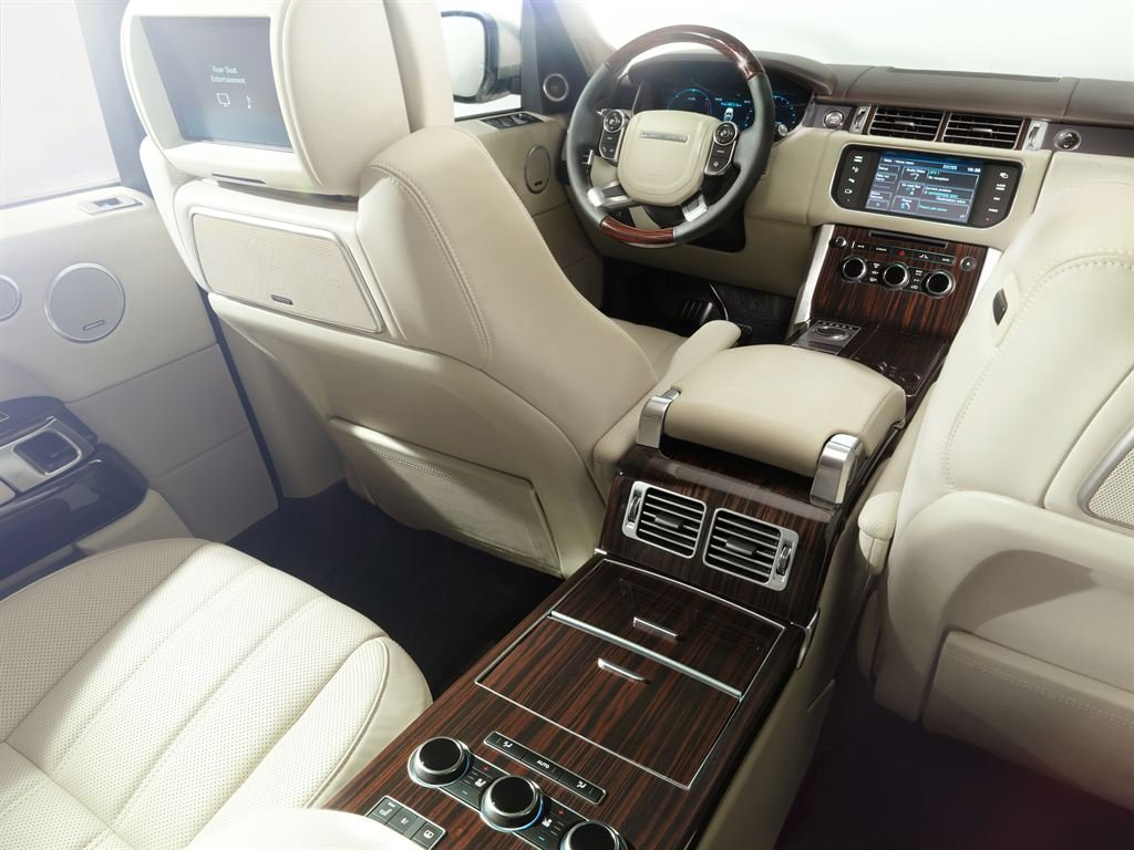 новый Range Rover интерьер салона