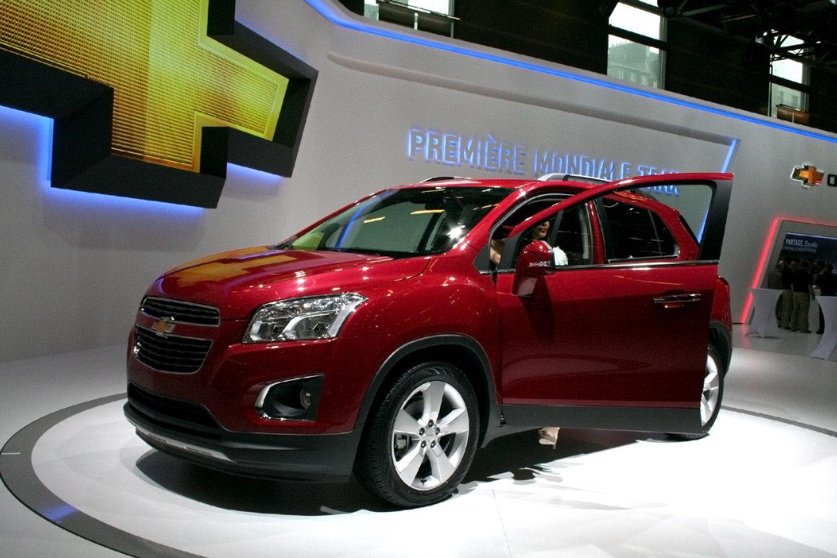 Новый Chevrolet Tracker Trax