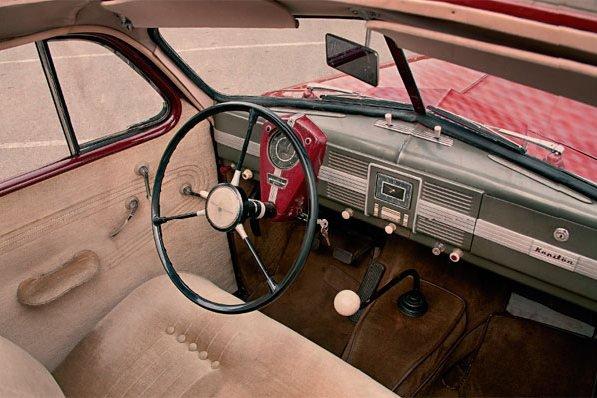 Opel Kapitan интерьер