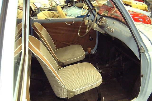 Интерьер Fiat 600