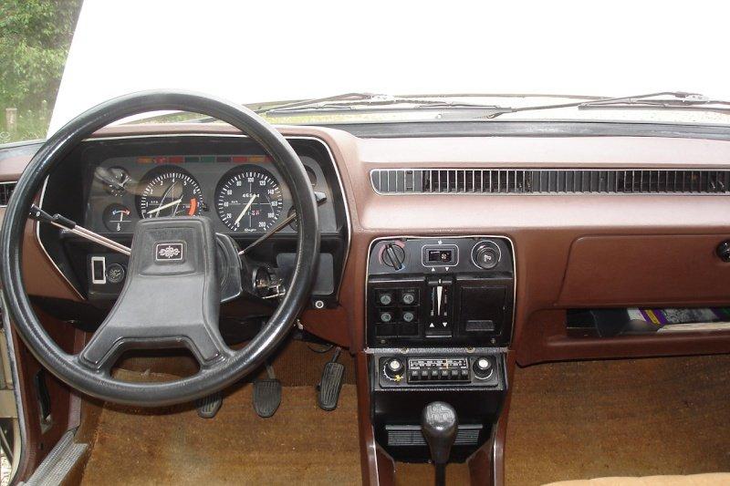 Интерьер Simca 1307