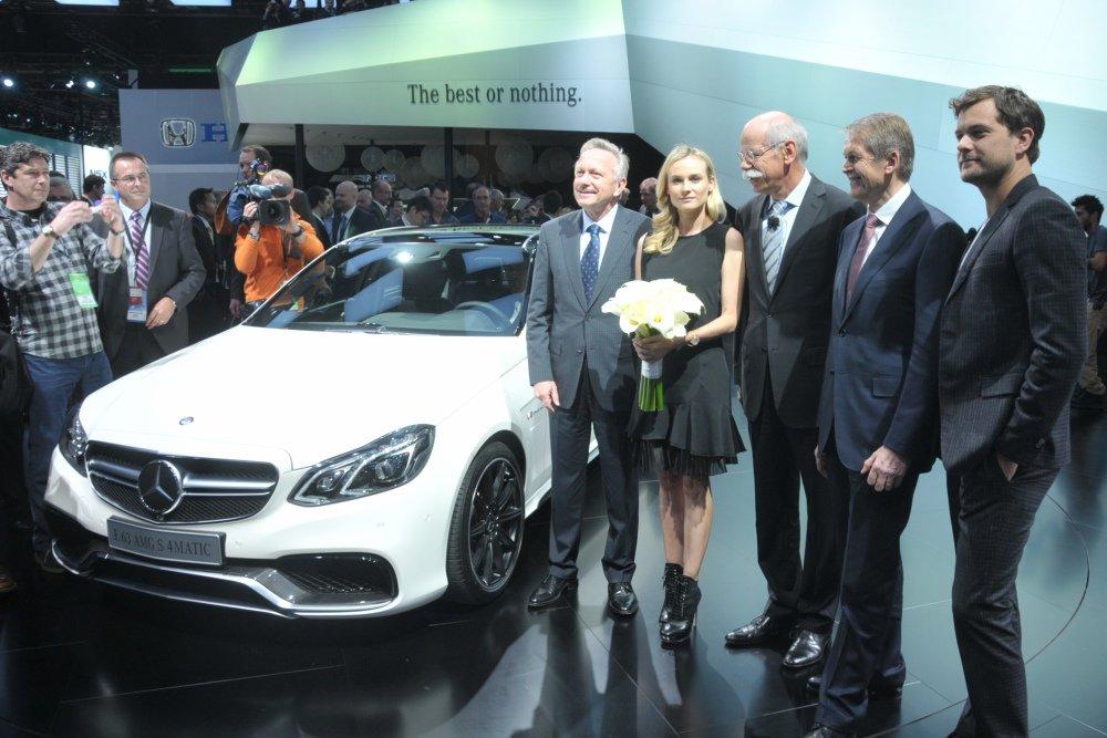 Детройт-2013: презентация Mercedes-Benz E-class