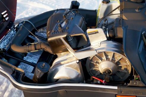 Yamaha VK 540 IV: двигатель
