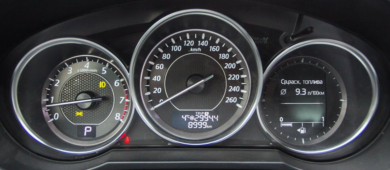 Щиток приборов Mazda6 2012