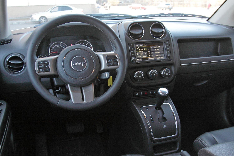 Интерьер Jeep Compass