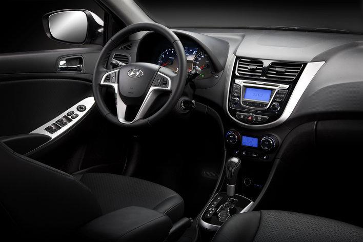 Hyundai Solaris. Интерьер