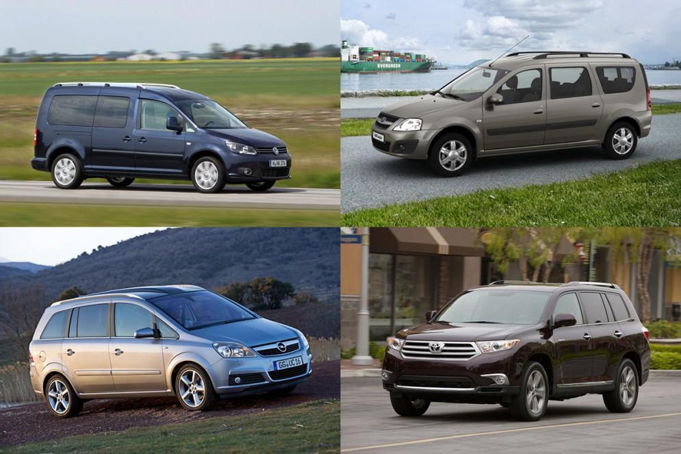 Семиместный автомобиль: выбираем дешевый - ByCars ru