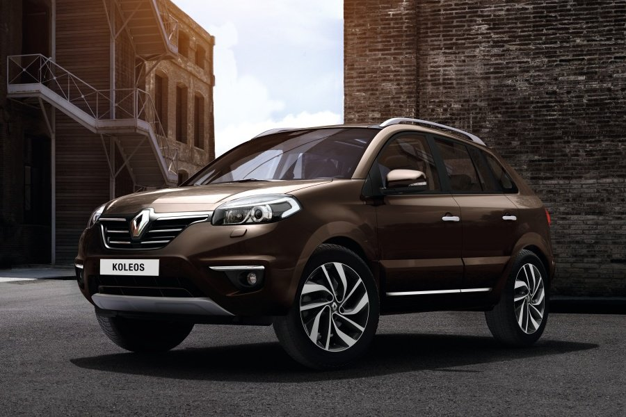 Рестайлинговый Renault Koleos поступил на российские прилавки