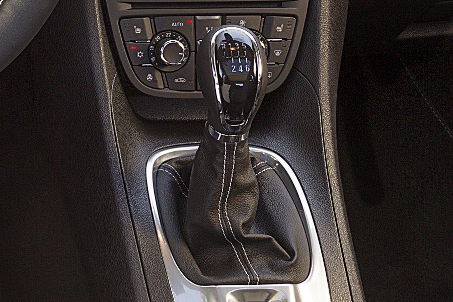 Opel Meriva: рычаг КПП