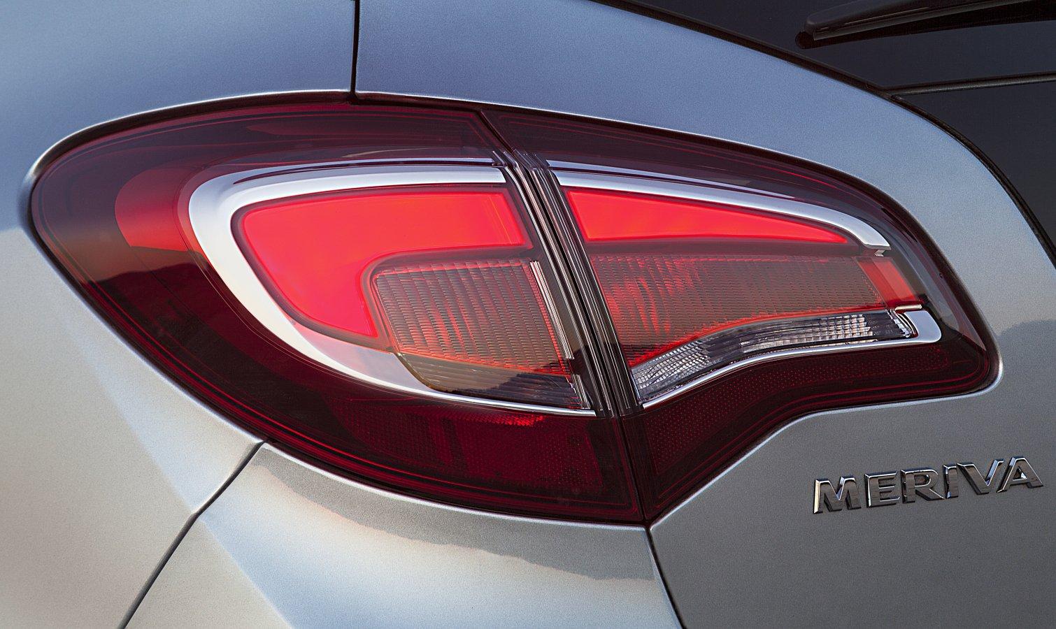 Opel Meriva: задний фонарь
