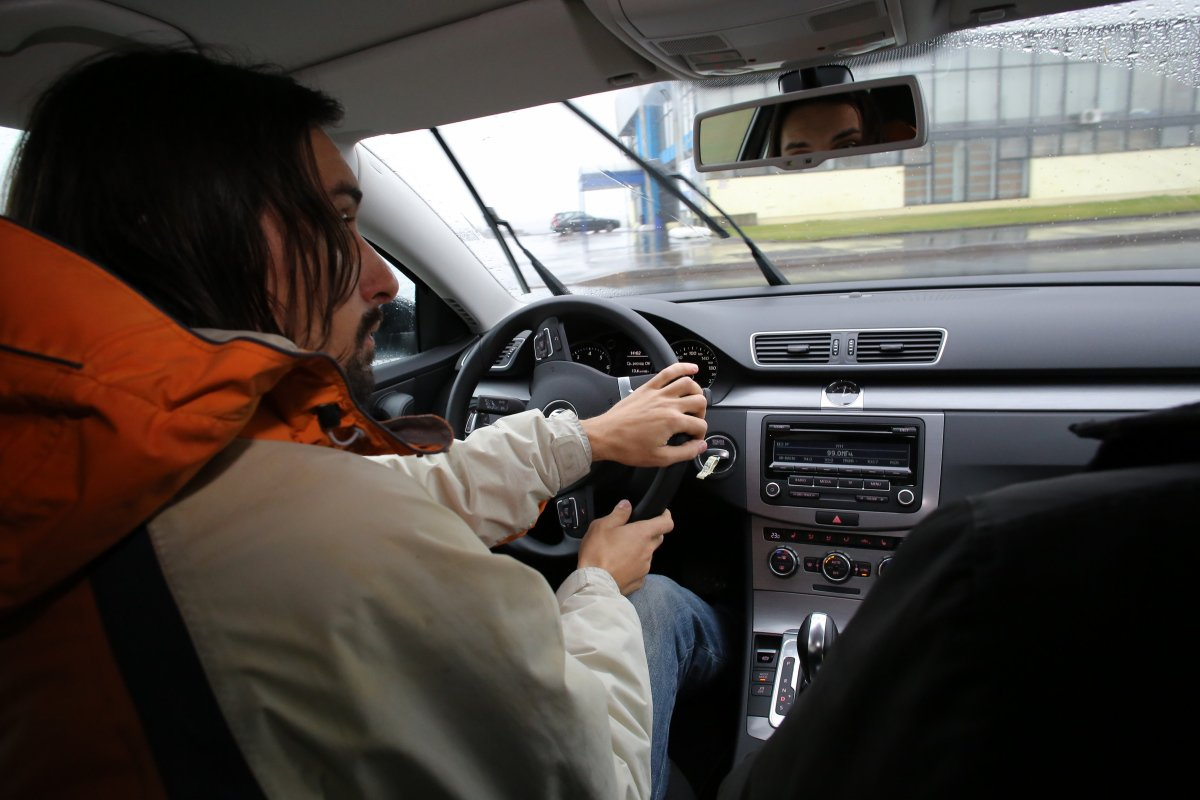 Volkswagen Passat EcoFuel: интерьер