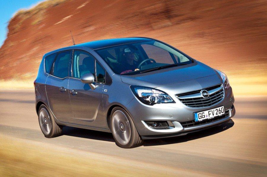 Opel оценил обновленную Meriva
