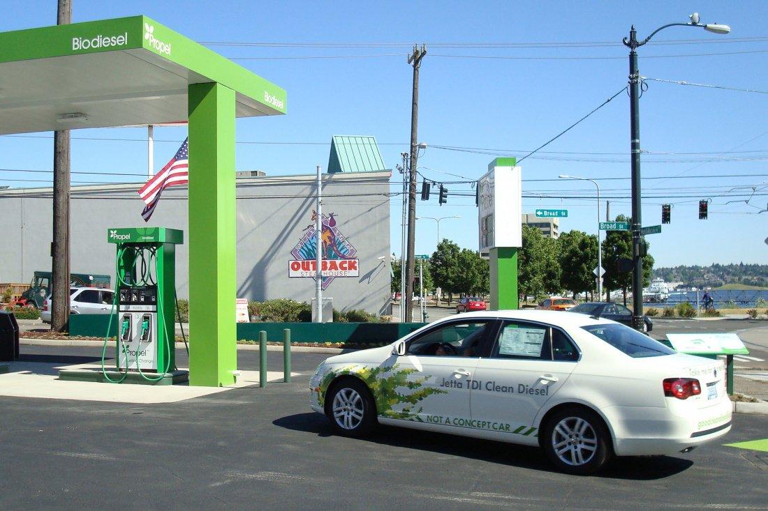 Биодизельная заправка