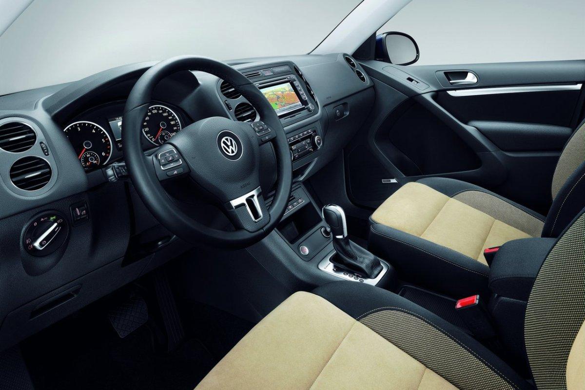 Volkswagen Tiguan: интерьер