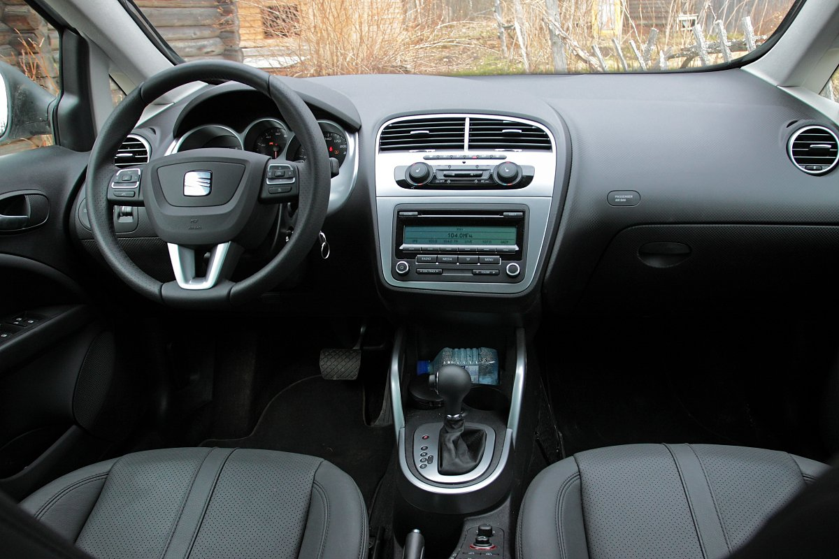 Seat Altea 4 Freetrack: интерьер