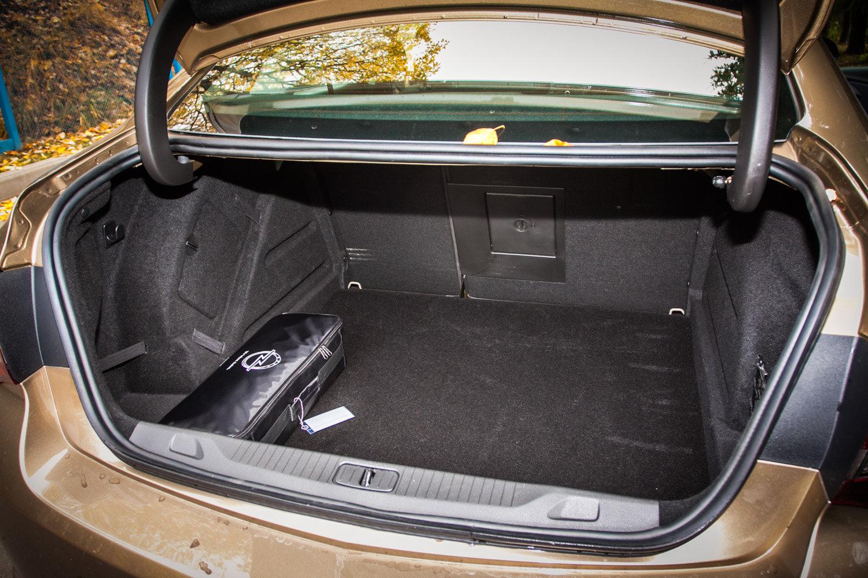 Багажник Opel Astra Sedan