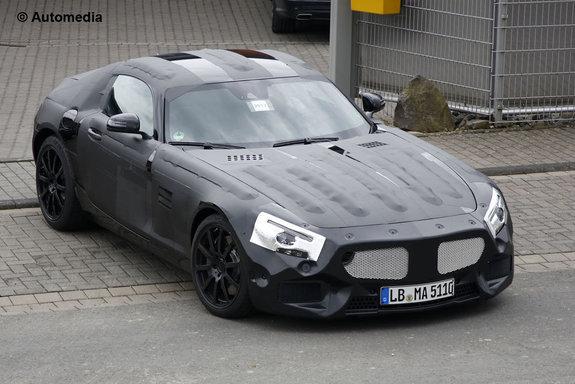 Прототип нового спорткара Mercedes-Benz