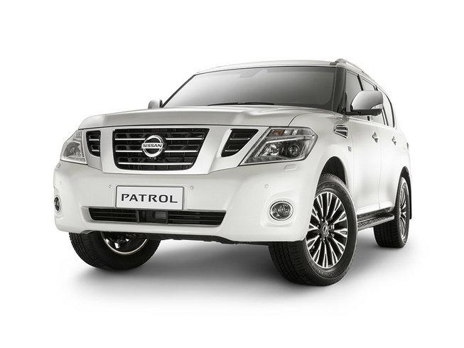 Рестайлинговый Nissan Patrol