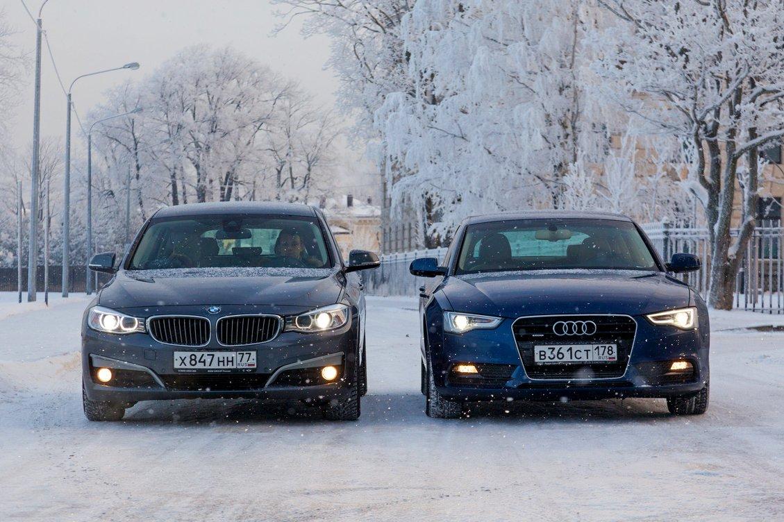 Audi A5 Sportback 2.0 TFSI и BMW 320d GT