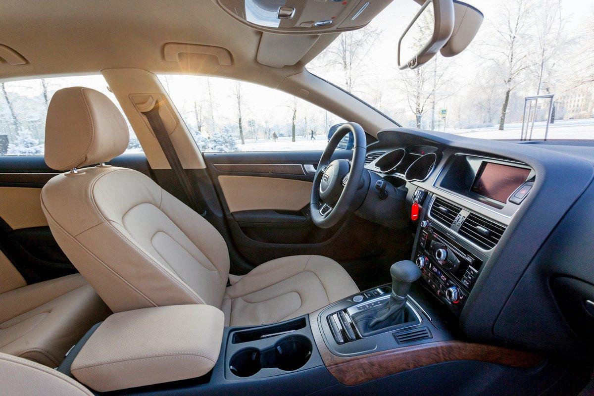 Интерьер Audi A5 Sportback