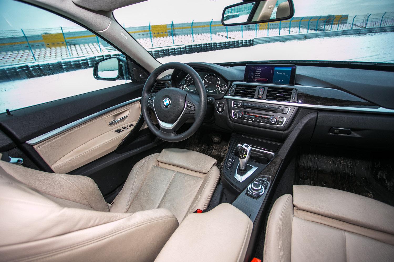 Интерьер BMW 320d GT