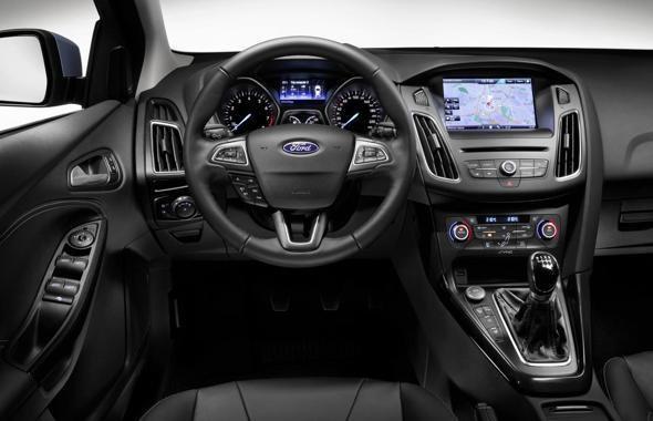 Рестайлинговый Ford Focus 2014 модельного года