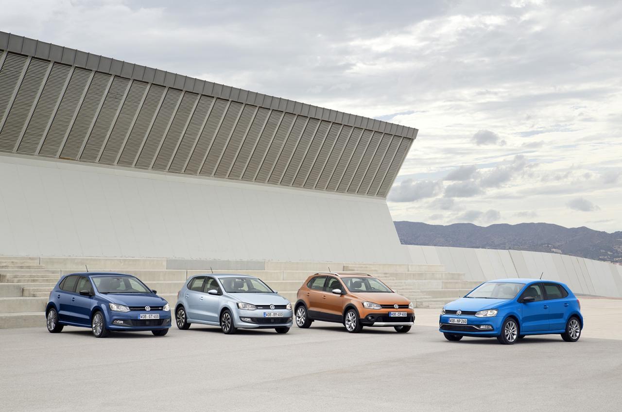 Обновленное семейство Volkswagen Polo