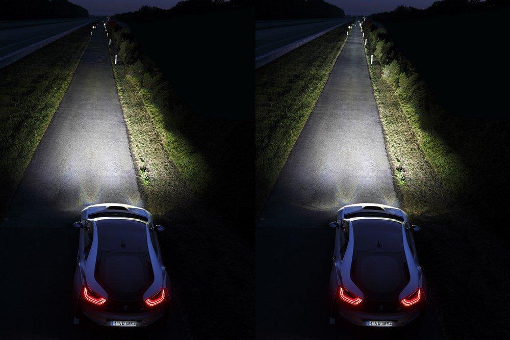 BMW i8: Laser Light