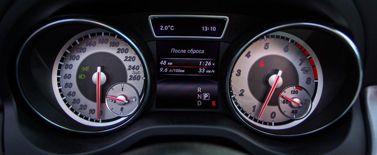 Щиток приборов Mercedes-Benz CLA