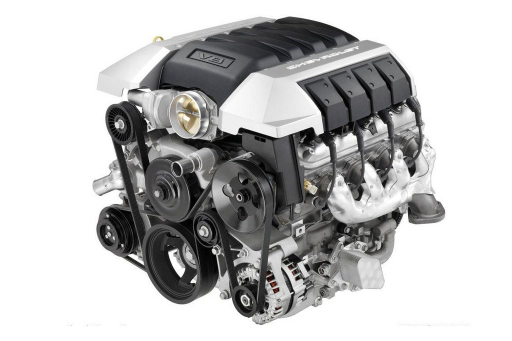 Chevrolet Camaro: двигатель
