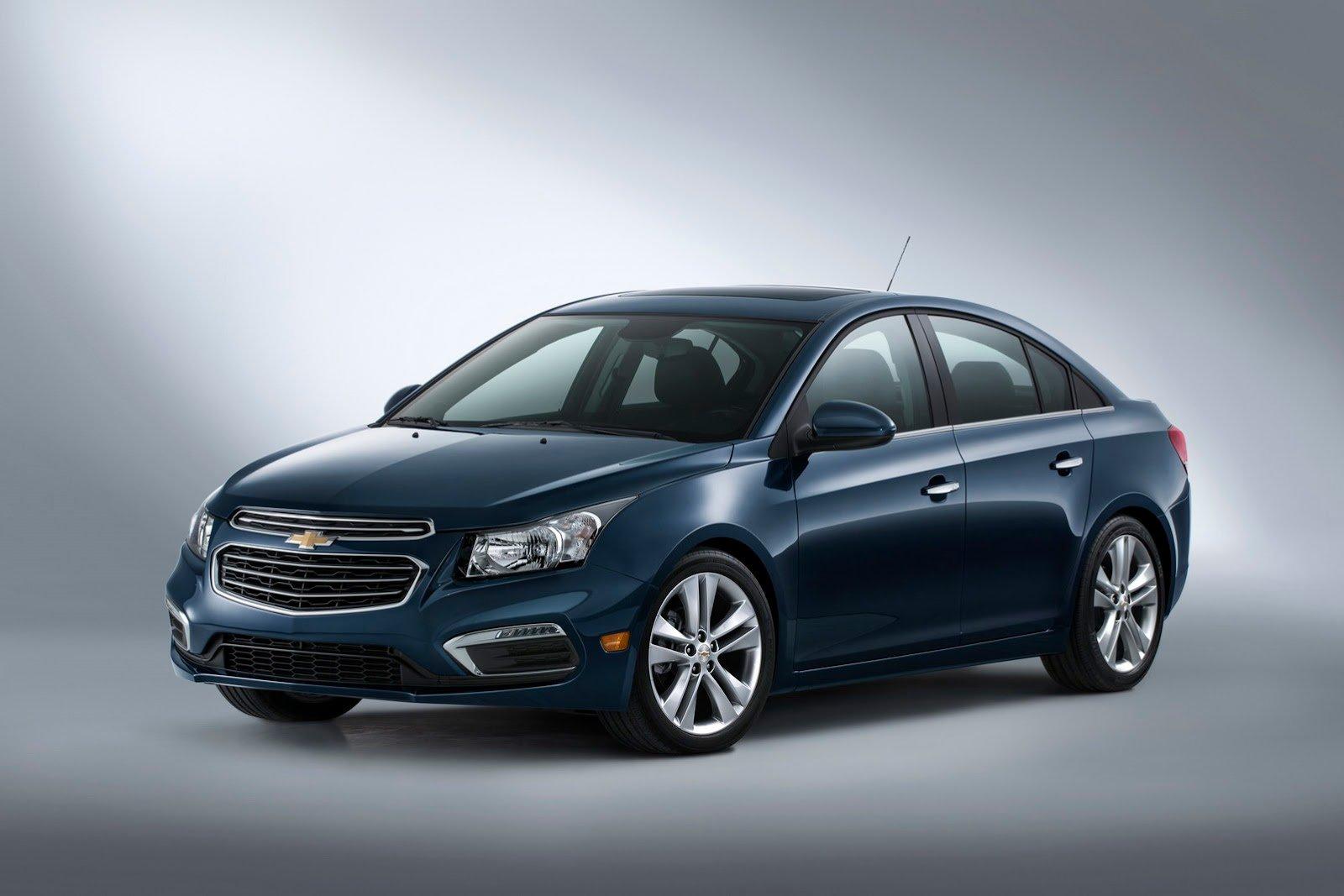 Нью-Йорк-2014: Chevrolet (Шевроле) подновил Cruze (Круз)