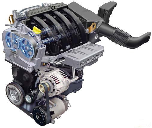 Новый Renault Logan: двигатель 1.6 16v