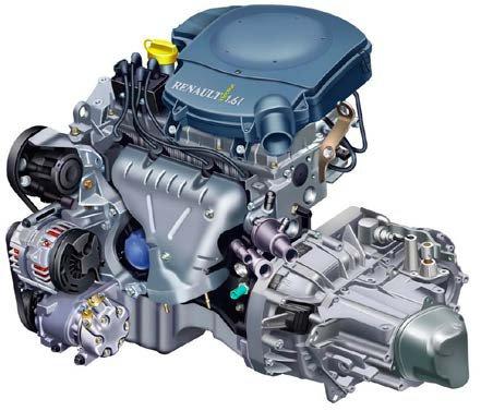 Новый Renault Logan: двигатель 1.6 8v