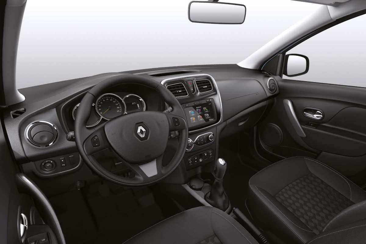 Новый Renault Logan: интерьер