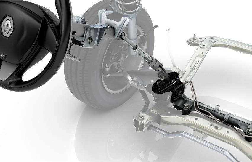 Новый Renault Logan: система рулевого управления