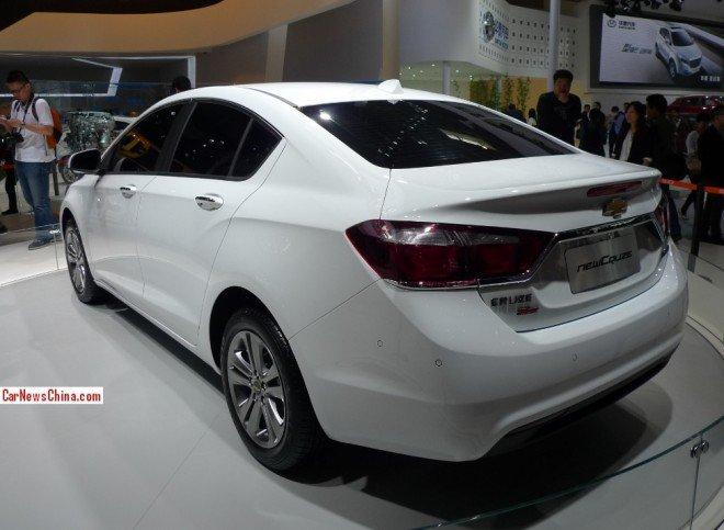 Chevrolet Cruze второго поколения