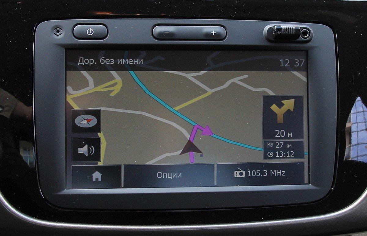 Навигация Renault Logan