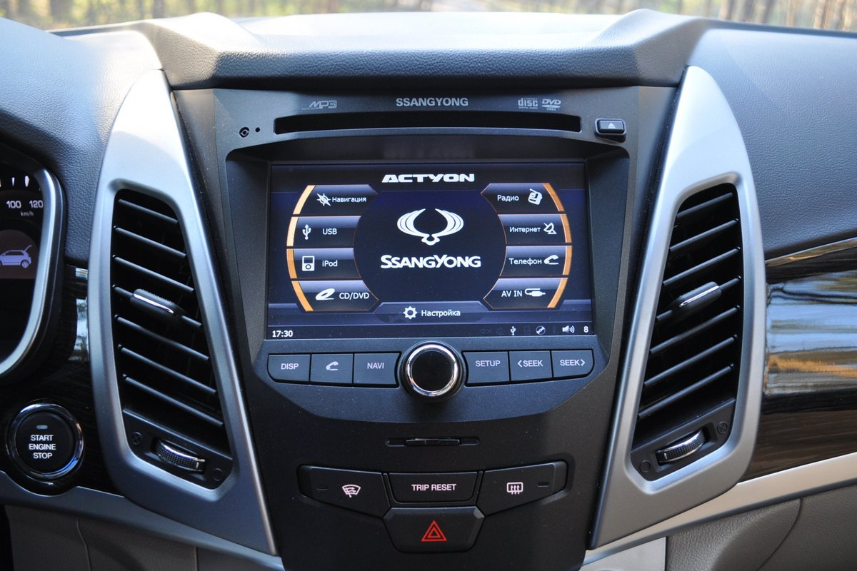 SsangYong New Actyon: салон