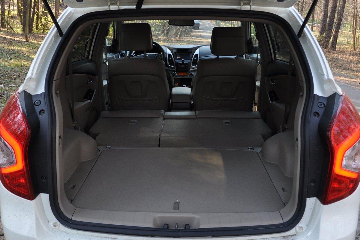 SsangYong New Actyon: багажник