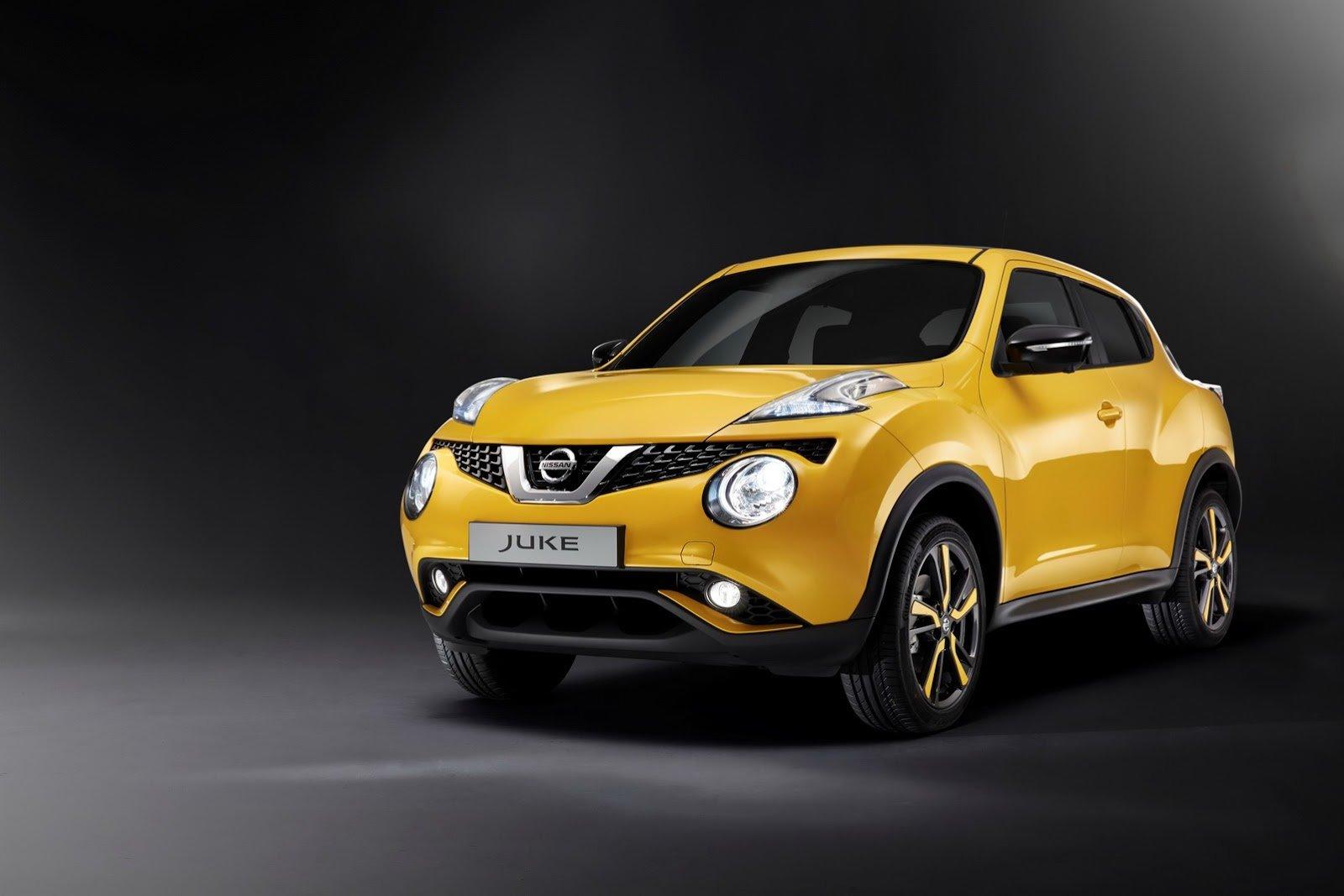 Рестайлинговый Nissan Juke