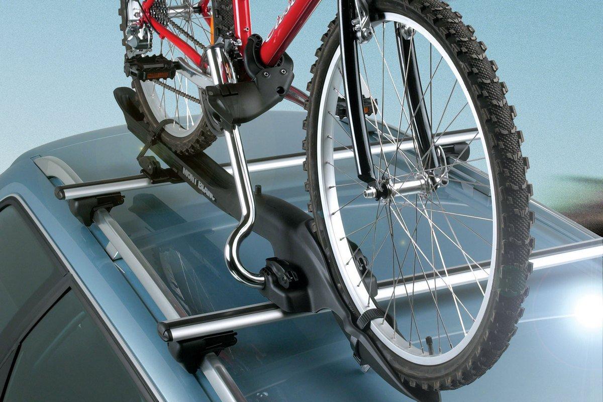 перевозка велосипедов в hyundai solaris