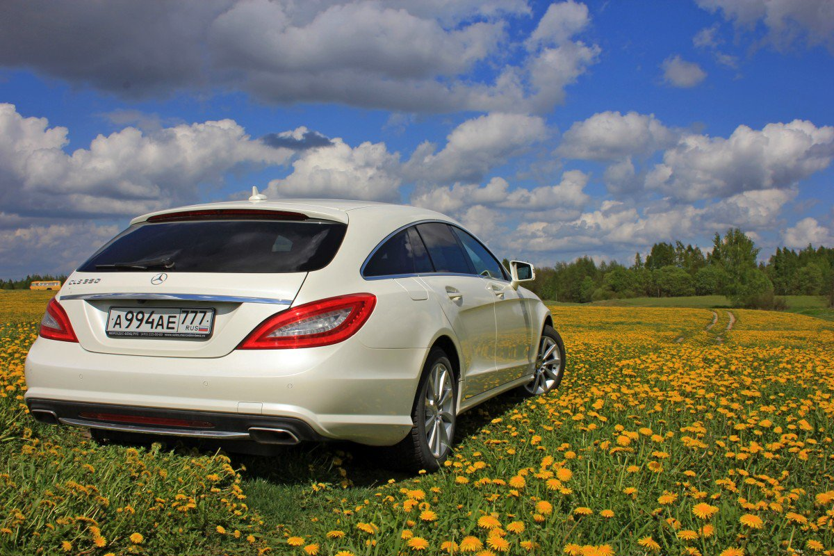 Mercedes-Benz CLS350 Shooting Brake