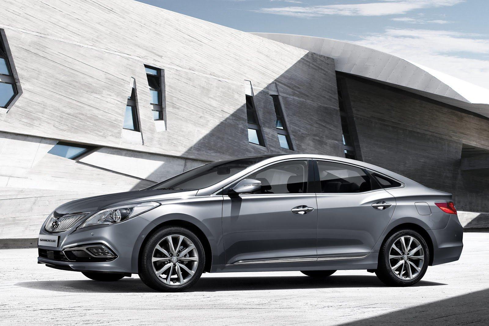 Рестайлинговый Hyundai Grandeur