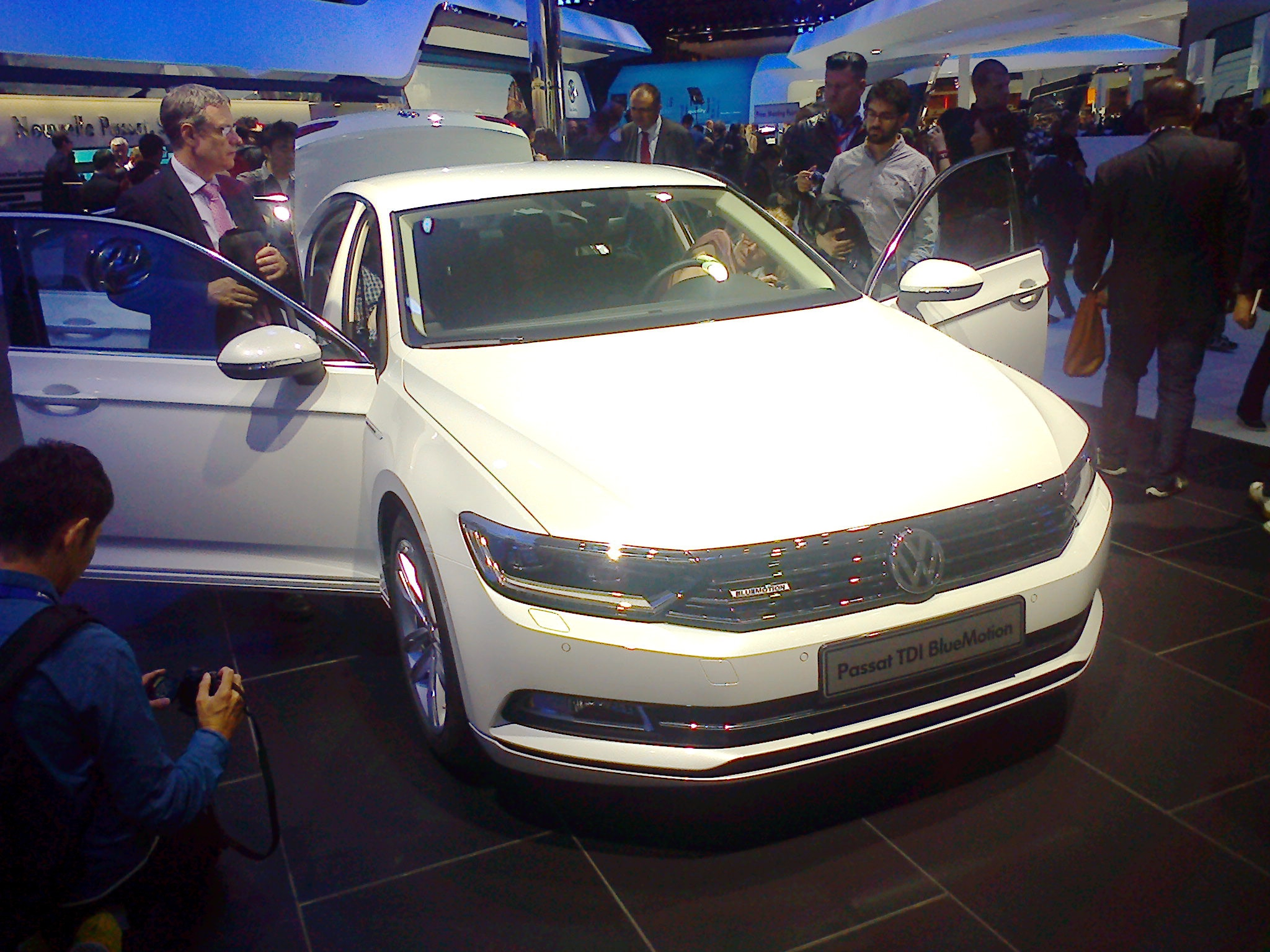 Новый Volkswagen Passat: лидер - консервативной партии