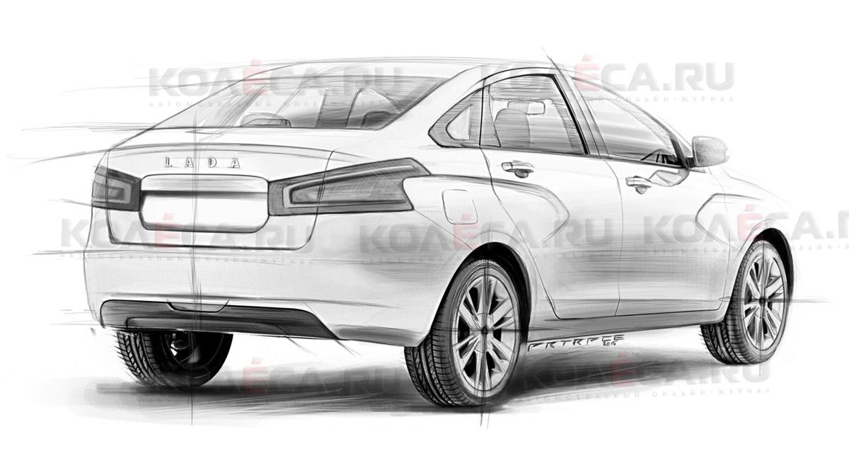 Хэтчбек Lada Vesta может встать на конвейер в 2016 году