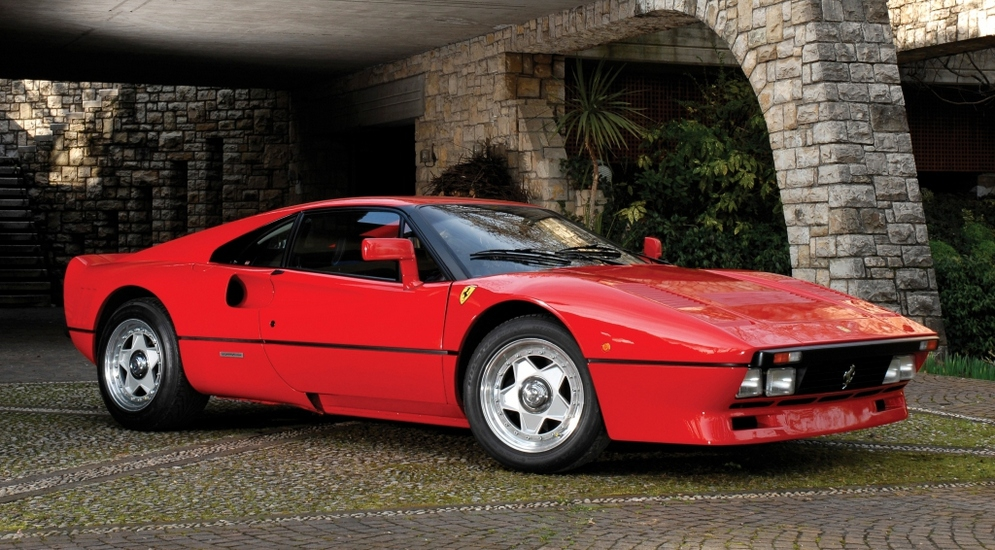 Ferrari с турбиной