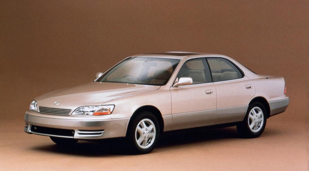 История Lexus 90-х годов (Лексус)